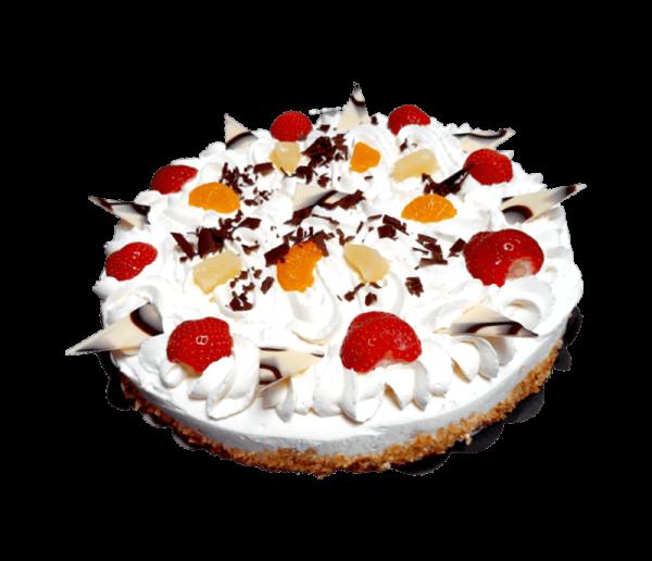 Bakker Degen Overloon - Ronde slagroomtaart